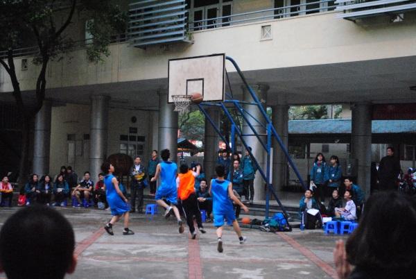 Giải bóng rổ 2015 chính thức khởi tranh