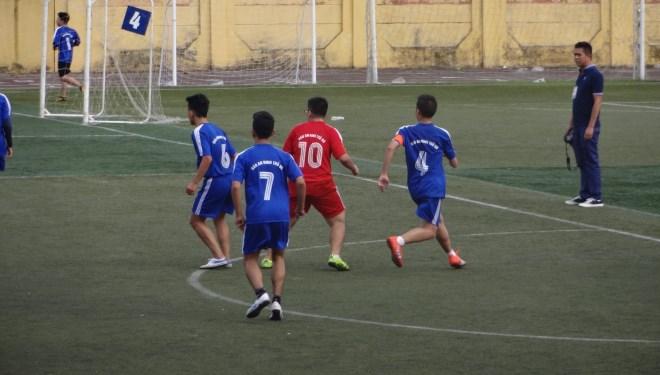 Giải Bóng đá An ninh thủ đô 2015: Bước qua kỳ phùng địch thủ đầu tiên.