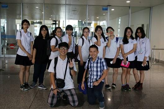 Chào mừng Đoàn giáo viên và học sinh trường AJC trở lại Việt Nam