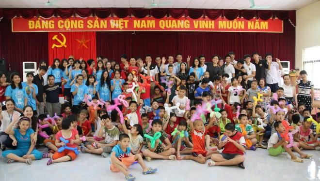 Trở lại Trung tâm phục hồi chức năng Việt Hàn, chúng tôi thấy trái tim ngập tràn hạnh phúc
