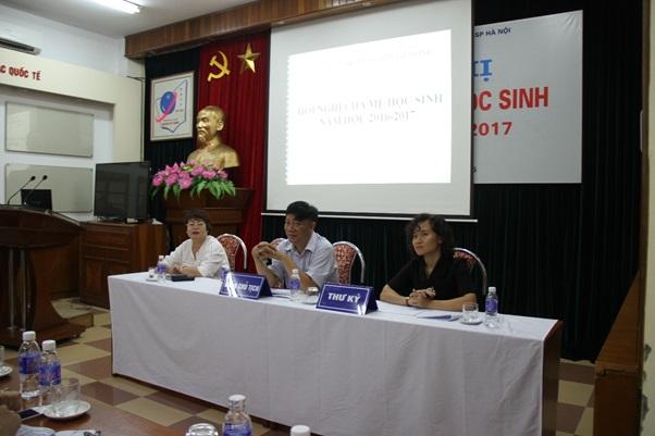 Hội nghị Cha mẹ học sinh năm học 2016 – 2017: Nơi gặp gỡ của những người yêu trẻ