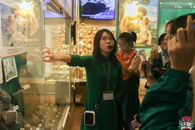 Trải nghiệm kì thú của học sinh khối 10 tại Bảo tàng Thiên nhiên Việt Nam