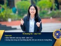 Chân dung học sinh nhận Học bổng Nguyễn Tất Thành lần thứ 40 – Khối 11 - Học kì I năm học 2020 – 2021