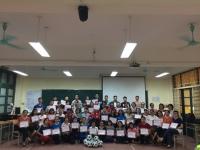 Buổi tập huấn thú vị dành cho giáo viên trường Nguyễn Tất Thành