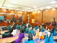 Câu lạc bộ Yoga – nơi đã quen là gắn bó
