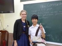 Cô giáo Dominique