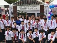 Tái hiện cuộc đời Chủ tịch Hồ Chí Minh trong hội trại của học sinh trường Nguyễn Tất Thành