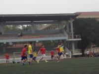 Giải bóng đá cán bộ trường ĐHSP Hà Nội: Tấm vé đầu tiên vào chung kết