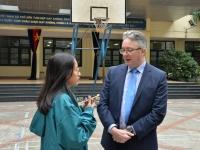 Cuộc gặp gỡ với vị khách quý đến từ Đại học Aberystwyth (Vương quốc Anh)