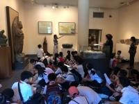 Hoạt động học tập liên môn lí thú tại Bảo tàng Mĩ thuật Việt Nam của học sinh khối 6