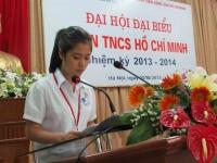 Đại hội Đại biểu đoàn Trường Nguyễn Tất Thành nhiệm kỳ 2013 – 2014