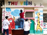 """""""Hiệu thuốc dành cho tâm hồn"""" của ngôi trường mang tên Bác tại Trung tâm phục hồi chức năng Việt - Hàn"""