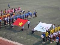Khai mạc Giải Bóng đá – Bóng chuyền Đại học Sư phạm Hà Nội năm học 2019 - 2020