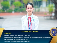 Chân dung học sinh nhận Học bổng Nguyễn Tất Thành lần thứ 40 – Khối 6 - Học kì I năm học 2020 - 2021