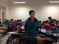 Học sinh lớp 12A5 tham gia thi đấu bóng bàn tại Philippines