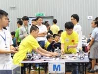 Học sinh trường Nguyễn Tất Thành đạt giải nhì tại cuộc thi Robothon cấp quốc tế