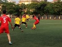 Chiến thắng ngày ra quân tại giải bóng đá trường ĐHSP Hà Nội năm 2017