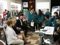 Giao lưu với đoàn giáo viên trường trung học Spyken - Chia sẻ kinh nghiệm tổ chức các câu lạc bộ học sinh