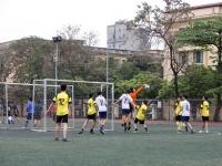 Vòng 1 Giải Bóng đá khối THCS: Màn ra quân bùng nổ của lớp 8A5