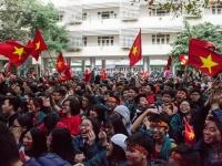 Trường Nguyễn Tất Thành yêu bóng đá và tràn đầy lòng tự tôn dân tộc