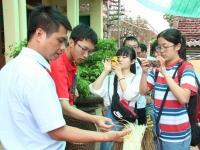 Đoàn trường Miyazaki (Nhật Bản) thăm nhà máy nước và tìm hiểu nông nghiệp Việt Nam