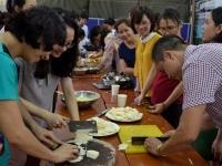 Lớp học nấu ăn đặc biệt chào mừng ngày Phụ nữ Việt Nam