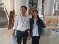 """Thầy giáo Nguyễn Tuấn Sơn và triển lãm tranh """"Nơi cảm xúc thăng hoa"""""""