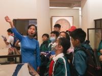Học tập trải nghiệm tại Bảo tàng Mĩ thuật Việt Nam