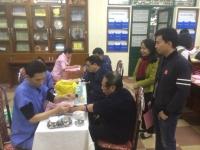 Vì sức khỏe cán bộ, giáo viên, nhân viên trường Nguyễn Tất Thành