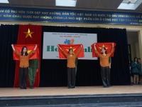 Giờ Sinh hoạt dưới cờ với chủ Hòa Bình – niềm vui lan tỏa ngày đầu tuần