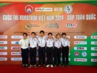 Học sinh trường Nguyễn Tất Thành vô địch cuộc thi Robothon toàn quốc