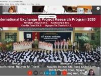 Tình hữu nghị giữa mùa đại dịch: Trường THCS&THPT Nguyễn Tất Thành – Trường Trung học Miyazaki Omiya