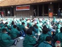 Theo chân học sinh khối 7 Trường Nguyễn Tất Thành đến Côn Sơn - Kiếp Bạc
