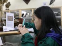 Học sinh khối 7 học trải nghiệm môn Sinh tại Bảo tàng Sinh học