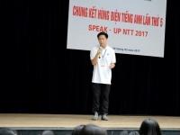 Chung kết SPEAK-UP NTT 2017 - Tỏa sáng những tài năng hùng biện