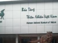 Một ngày ở Bảo tàng Thiên nhiên Việt Nam