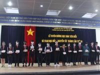 Lễ tuyên dương học sinh tiêu biểu và trao học bổng Nguyễn Tất Thành lần thứ 40