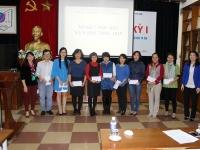 Hội nghị sơ kết HK I và triển khai nhiệm vụ HK II năm học 2014 - 2015