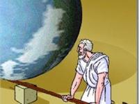 Acsimet với công bố có thể nâng bổng Trái Đất