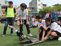 Cuộc thi chế tạo và phóng tên lửa nước 2018: Chinh phục ước mơ