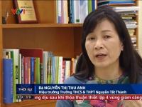 Hoạt động trải nghiệm sáng tạo tại trường THCS & THPT Nguyễn Tất Thành - VTV1