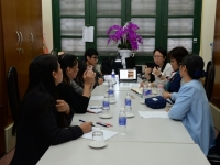 Buổi trao đổi kinh nghiệm với các đồng nghiệp đến từ Anderson Junior College (Singapore)