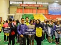 Ngày hội thể thao CB, GV, NV ngành GD–ĐT quận Cầu Giấy: trường Nguyễn Tất Thành gặt hái thành công