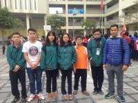 """Ngày """"ra quân'' rực rỡ của đội tuyển cờ tướng trường Nguyễn Tất Thành"""