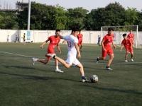 Giải bóng đá Báo An ninh Thủ đô 2017: Chiến thắng kịch tính