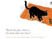 """Giới thiệu sách: """"Chuyện con mèo và con chuột bạn thân của nó"""""""