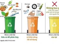 Phân loại rác - hành động nhỏ, ý nghĩa lớn
