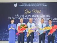 Gặp mặt các thế hệ giáo viên, cán bộ, nhân viên trường Nguyễn Tất Thành