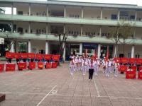 Liên đội trường Nguyễn Tất Thành giành giải Nhất nghi thức Đội TNTP quận Cầu Giấy