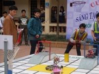 Chung kết cuộc thi Sáng tạo Robot lần thứ 4: Khi niềm say mê khoa học thăng hoa